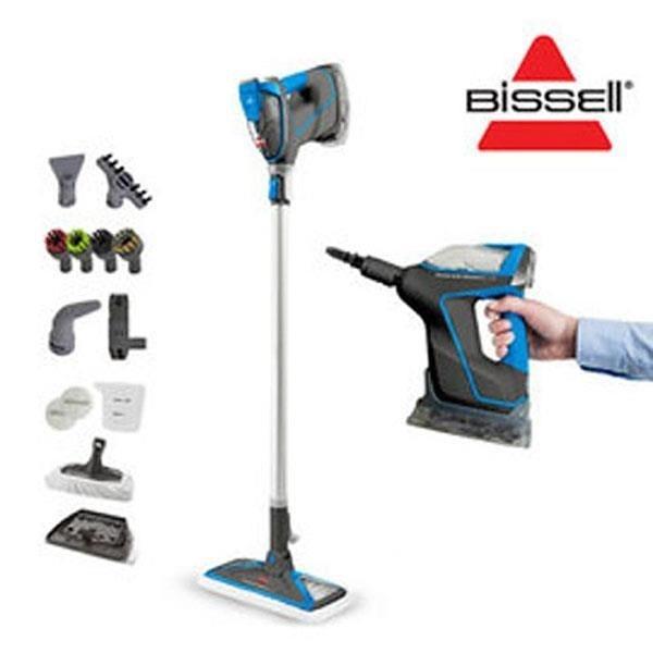 【南紡購物中心】美國 Bissell 必勝 Slim Steam 多功能手持地面蒸氣清潔機 2233T