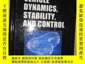 二手書博民逛書店Vehicle罕見Dynamics, Stability, an