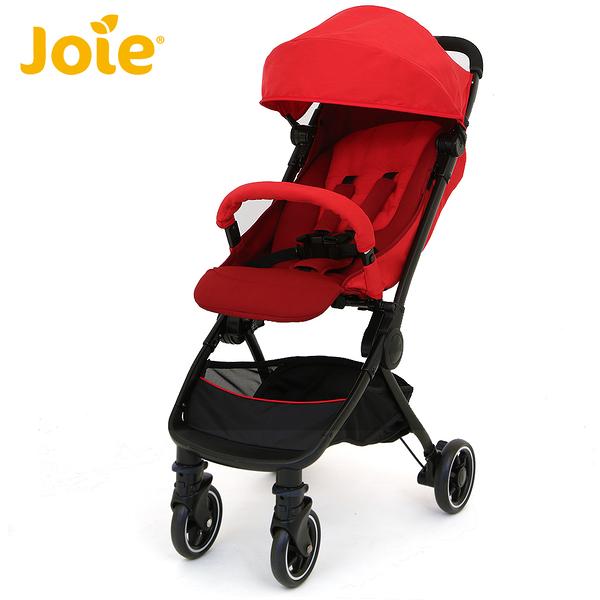 【奇哥總代理】Joie pact lite dlx 輕便型推車-紅色