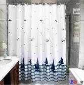 貝貝居 浴簾 防水布 加厚 防霉 浴室簾子 淋浴 窗簾 隔斷門簾 洗澡 掛簾