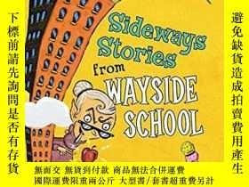 二手書博民逛書店Sideways罕見Stories From Wayside SchoolY256260 Louis Sach