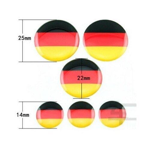 VW 旋鈕調節立體貼 GOLF 6 7 POLO CC GTI 德國 惡兔 R標 貼紙 沂軒精品 A0251