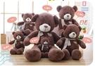 【60公分】圍巾泰迪熊 抱枕 絨毛玩偶 聖誕節交換禮物 情人節禮物 餐廳居家商業布置裝潢