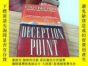 二手書博民逛書店英文原版罕見Dan brown--deception point