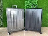 皇冠 CROWN  27吋 輕型大容量 鋁框箱 行李箱 旅行箱 C-FD133  (霧黑/髮絲銀)