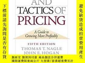 二手書博民逛書店The罕見Strategy And Tactics Of Pricing: A Guide To Growing