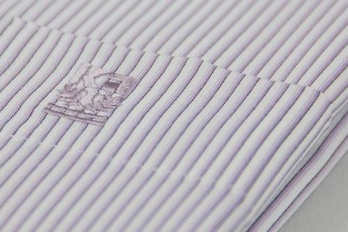 【金‧安德森】紫色條紋吸排窄版長袖襯衫