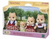 日本森林家族 焦糖狗家庭組EP14060 EPOCH原廠公司貨