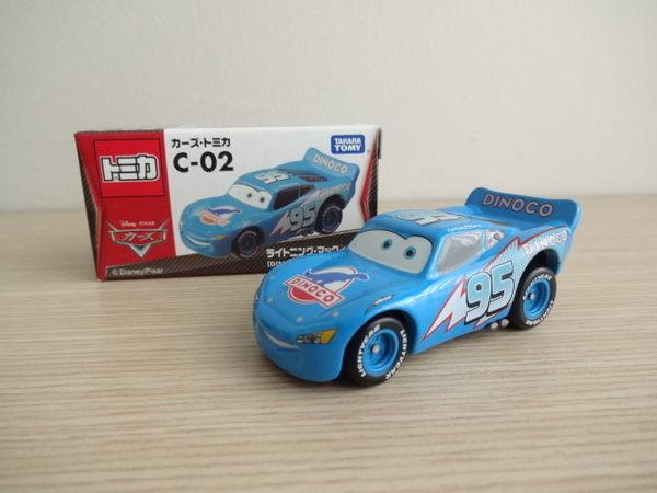 ☆草莓牛奶屋☆日本進口【迪士尼CARS】TOMICA小汽車(C-02)