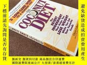 二手書博民逛書店The罕見Coconut Diet: The Secret In