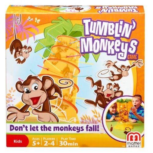 MATTEL益智遊戲 跳跳猴大挑戰 TOYeGO 玩具e哥
