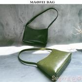 手提包復古包包女2020新款小眾設計腋下包手拎包OL通勤百搭側背手提包潮 交換禮物