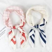 小方巾絲巾女韓國夏天百搭薄款圍巾髮帶裝飾長條ins夏季脖子防曬