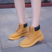 馬丁靴女英倫風春秋新款學生靴子韓版工裝機車鞋百搭復古短靴