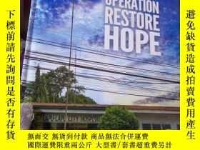 二手書博民逛書店OPERATION罕見RESTORE HOPE手術恢復的希望Y1