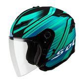 SOL安全帽,SO1,創/消光黑藍綠