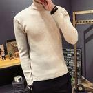 經典復古素色造型百搭休閒高領毛衣