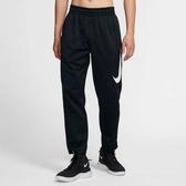 C-NIKE THERMA 男裝 長褲 籃球 大LOGO 休閒 透氣 柔軟 黑 AT3261-010