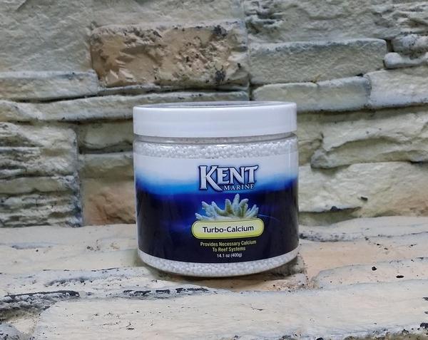 【西高地水族坊】KENT MARINE 強效軟體鈣質補充劑(Turbo Calcium)鈣質補充劑(粉狀)(400g)