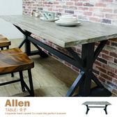 餐桌 書桌 工作桌 寫字桌 洽談桌 LOFT復古工業 【IDEDT】品歐家具