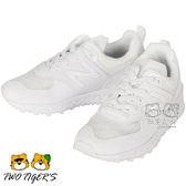 New Balance 574 白色 透氣網布 套入式運動鞋 中童鞋 NO.R1827