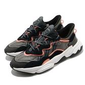 【海外限定】adidas 休閒鞋 OZWEEGO 黑 灰 橘 反光 男鞋 女鞋 愛迪達 三葉草【ACS】 EF4289