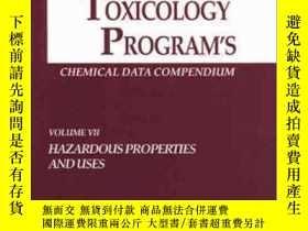 二手書博民逛書店The罕見National Toxicology Program s Chemical Data Compendi