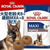 此商品48小時內快速出貨》SHN 法國新皇家飼料《大型老齡犬8+歲齡MXA+8》15KG