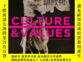二手書博民逛書店【罕見】2013年 Culture And Values: A