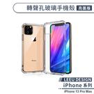 【LEEU DESIGN】iPhone 13 Pro Max 轉聲孔玻璃手機殼(亮面) 保護殼 保護套 防摔殼 透明殼 不發黃