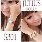 ☆ 滷蛋媽媽 ☆【 韓國 JuLius J301 特價 】 心動時刻錶 錶面心形轉盤每秒都會跳動 韓國正廠