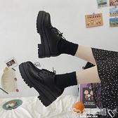 鬆糕鞋英倫風鬆糕厚底小皮鞋女2021新款學生韓版百搭jk復古黑色日系單鞋 嬡孕哺 上新 新品