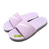 Nike 涼拖鞋 Kawa Slide GS PS 紫 粉紫 白 女鞋 大童鞋 拖鞋【ACS】 819352-501