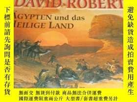 二手書博民逛書店David罕見Roberts Egypt and the hol