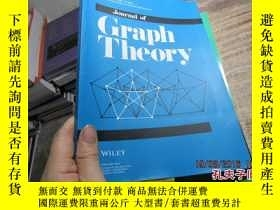 二手書博民逛書店journal罕見of graph theory volume