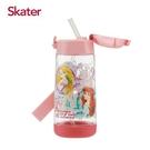 Skater PET吸管水壺(480ml)迪士尼公主-粉〔衛立兒生活館〕