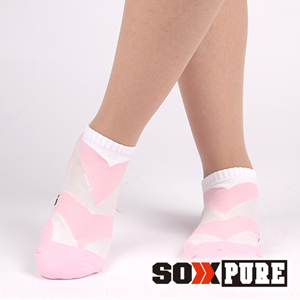 【SOXPURE】女 極速快乾機能襪『粉紅』SP1004 露營.戶外.登山.保暖襪.彈性襪.休閒襪.襪子
