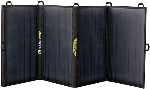 [2美國直購] Goal Zero Nomad 50,太陽能電池板 Foldable Monocrystalline 50 Watt Solar Panel with 8mm + USB Port