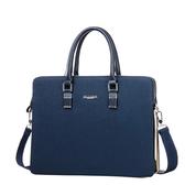 公事包男士手提包橫款方形新品公文包單肩側背包皮包電腦休閒商務男包