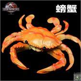 動物模型 大號BB哨軟膠仿真龍蝦螃蟹模型玩具塑膠靜態海洋動物兒童認知禮物T