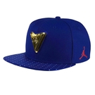 Nike 帽子 Jordan 7 Retro Snapback 奧運 金牌 藍 紅 白 星星 7代 9號 可調整 棒球帽 【ACS】 801771-455