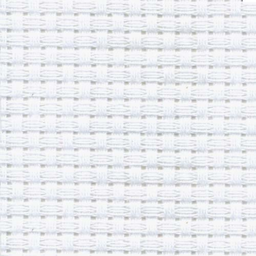 中格11CT十字繡布料  白色 ( 整片布尺寸為 450cm x 150cm ; 75才 ) 手工藝材料.DIY