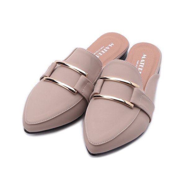 MATERIAL 方框穆勒鞋 可可 JIO0446 女鞋