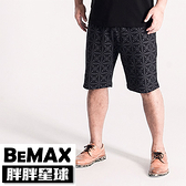 【胖胖星球】中大尺碼‧民族風造型綁繩棉褲 2XL~6XL‧加大【107201】