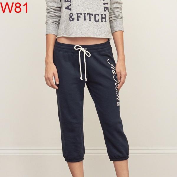 AF Abercrombie & Fitch A&F A & F 女 當季最新現貨 棉褲 AF W81