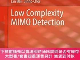 二手書博民逛書店Low罕見Complexity Mimo DetectionY255174 Lin Bai Springer