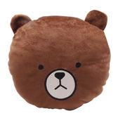 (滿3件$399) 英國熊玩偶小圓枕(24x22cm)~指定商品需滿3件以上才可出貨