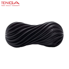 日本TENGA MOOVA 軟殼螺旋重複使用型飛機杯 (搖滾黑)