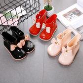 618好康又一發雨靴男童日式小童女童防滑「巴黎街頭」