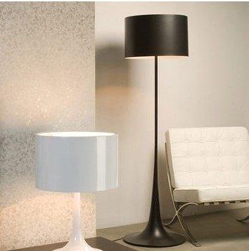 設計師美術精品館意大利名師設計 FLOS Spun Light F 黑色落地燈40CM